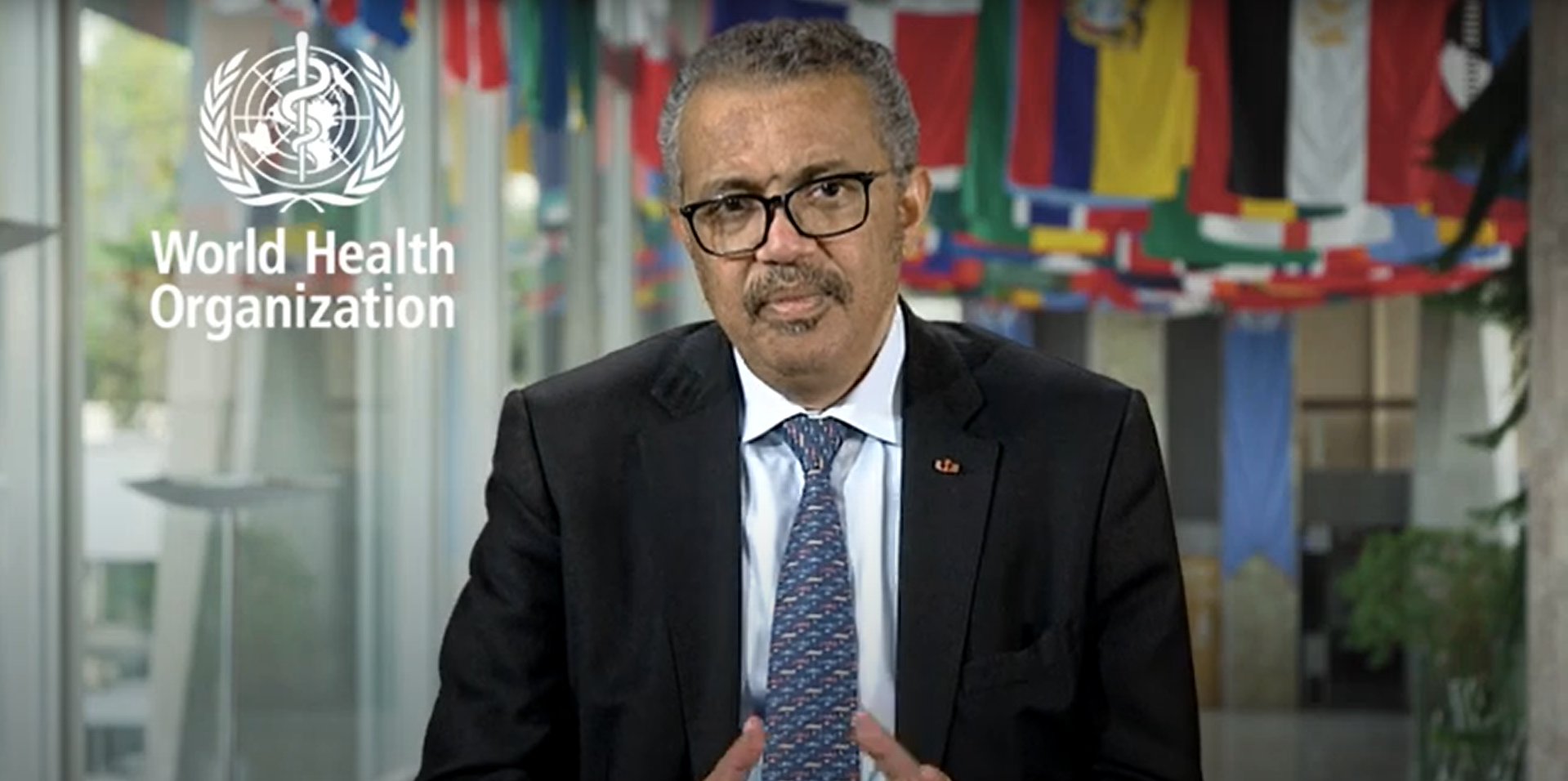 Dr Tedros Adhanom Ghebreyesus, Director-General of WHO welcomes the opening of The Trinity Challenge