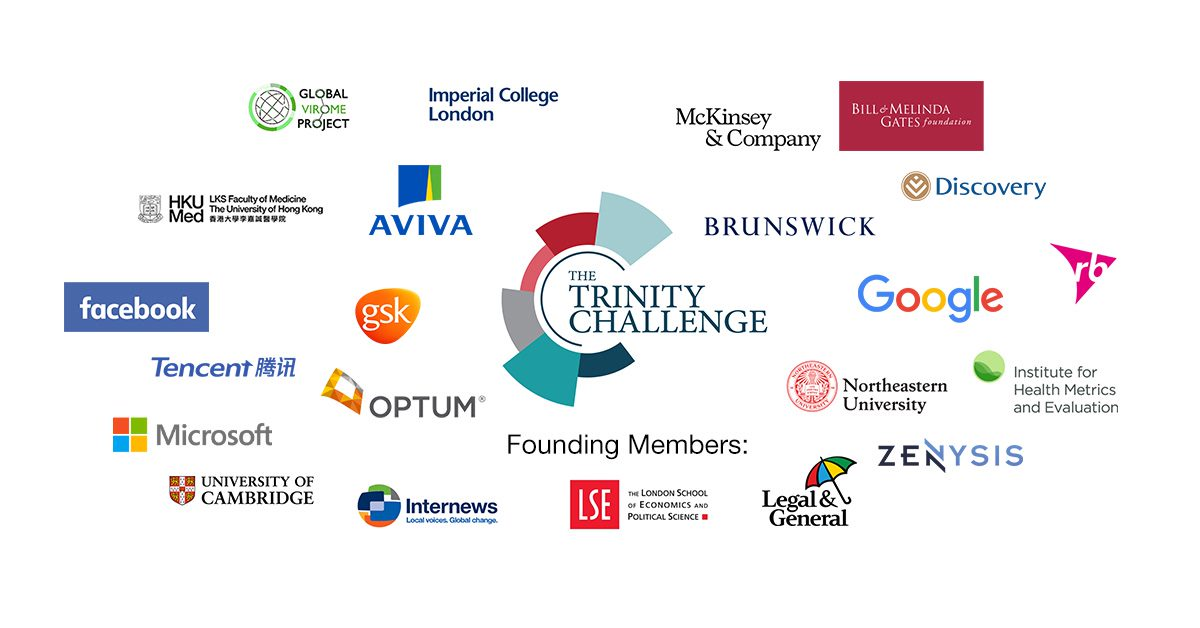 The Trinity Challenge Founding Members